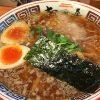 ちりちり麺に魚介の風味豊かな支那そば ~ちばき屋~