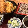 仙台駅前でパリパリ天丼と黒ゴマ蕎麦 ~北前そば高田屋~